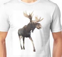 Walking Moooooose Unisex T-Shirt