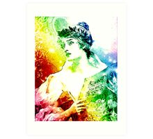 MUSIC GIVES VOICE TO THE HEART Art Print