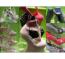 SHOE COLLAGE Photographic Print