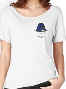 Too Many Birds! - Toon Penguin Women's Relaxed Fit T-Shirt