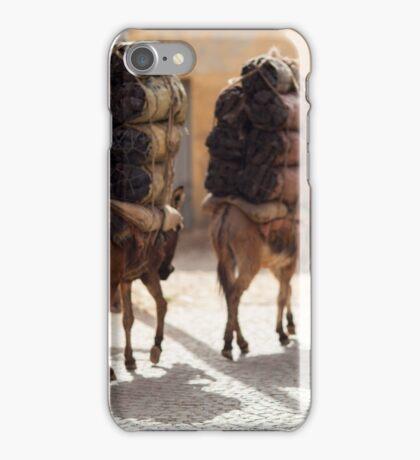 Ethiopia - people, animals and transport iPhone Case/Skin