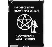 Which Witch are you iPad Case/Skin