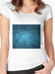 Abstract art Women's Fitted Scoop T-Shirt