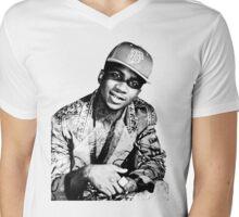 lil b halftone posterized basedgod based god Mens V-Neck T-Shirt