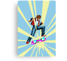The most epic kickflip Canvas Print