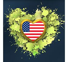 Love United States of America Photographic Print
