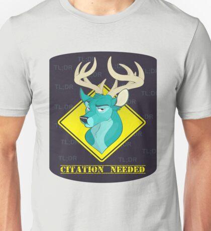 Citation Needed! - TL;DR Unisex T-Shirt