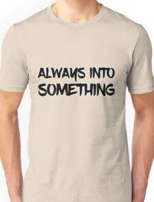 nwa always into something straight outta compton rap rap music hip hop music Unisex T-Shirt