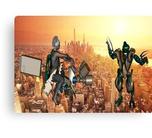 Defense of Planet Earth Canvas Print