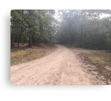 Old Gravel Road Canvas Print