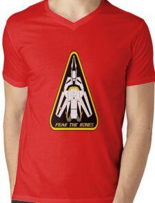 Macross Robotech Skull Squadron VF-1S Valkyrie  Mens V-Neck T-Shirt