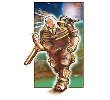 Woman Cosmonaut Soldier - Comics Character Photographic Print