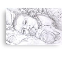 Baby Holly Canvas Print