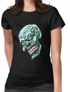 ONE EYE ZOMBIE Womens Fitted T-Shirt