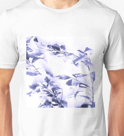 Blue leaves Unisex T-Shirt