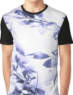 Blue leaves Graphic T-Shirt