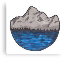 hal circle landscape color Canvas Print