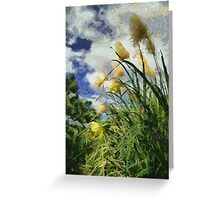 Bamboo Fields Greeting Card