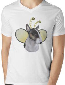 Bully Bee Mens V-Neck T-Shirt