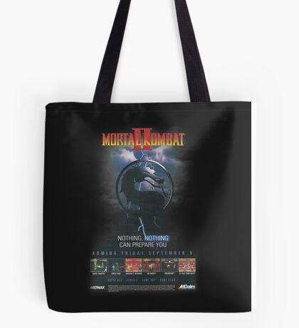 VINTAGE Mortal Kombat II  Tote Bag