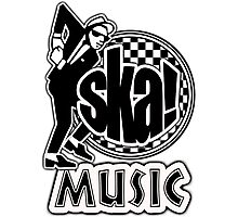 Ska Music Photographic Print