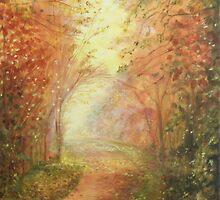 Path in Autumn  by ienemien