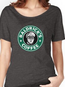 Baldrick's Coffee - Large Logo Women's Relaxed Fit T-Shirt