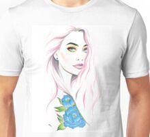 Tattoo girl Unisex T-Shirt