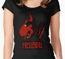 HELLBULL Women's Fitted Scoop T-Shirt