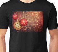 Christmas balls 1 Unisex T-Shirt