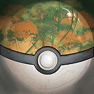 Wartorn Pokeball - Safari by Zhivago