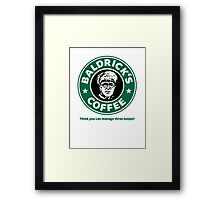 Think you can manage three lumps? - Large Framed Print