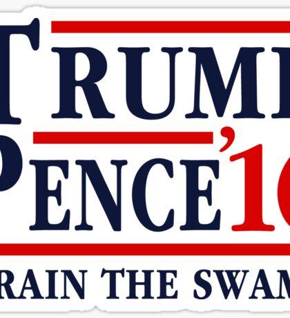 Trump Pence 2016 Drain The Swamp Sticker