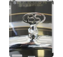 Classic vintage motorbike badge, home decor, gifts for him and accessories iPad Case/Skin