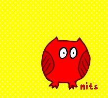 Nits ... for Kids - Owl bags by aint-no-zombie