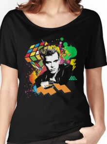 Billy Idol 80's Women's Relaxed Fit T-Shirt