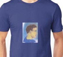 Small Boy Portrait - Chalk Unisex T-Shirt