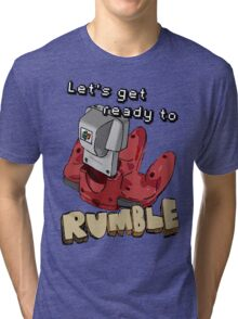 Let's get ready to Rumble! N64 Tri-blend T-Shirt