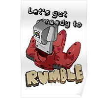 Let's get ready to Rumble! N64 Poster