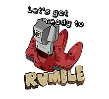 Lets get ready to Rumble! (N64) Photographic Print