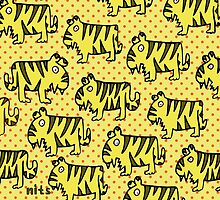 Nits ... for Kids - Tigers bags by aint-no-zombie