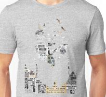 Marilyn Monroe Headline Silhouette  Unisex T-Shirt