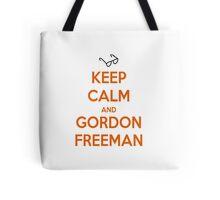 Keep Calm And Gordon Freeman Tote Bag