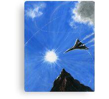 AzizM Presents: Air Canvas Print