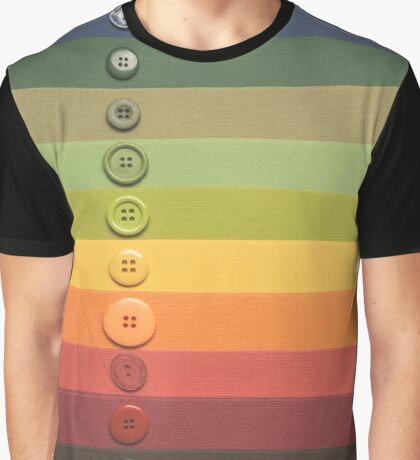 Button collection... Graphic T-Shirt