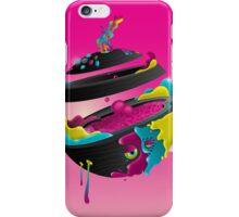 CMYK Planet - Magenta iPhone Case/Skin