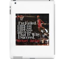 MJ quote iPad Case/Skin