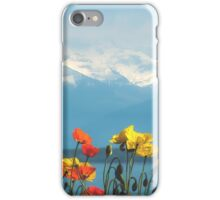 Swiss Flowers iPhone Case/Skin