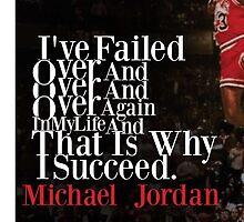 Michael Jordan Quote  by georgewaterhous