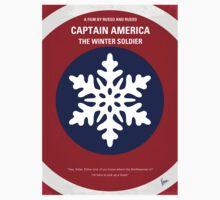 No329 My CAPTAIN AMERICA - 2 minimal movie poster T-Shirt